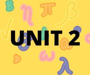 WA Unit 2 Maths Specialist